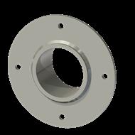 Гильза алюминиевая с фланцем SLFR 70 83/71,5-55мм