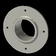 Гильза алюминиевая с фланцем SLFR 75 89/76,5-55мм