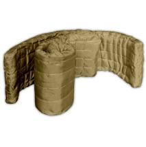 Маты базальтовые прошивные в обкладке базальтовой тканью